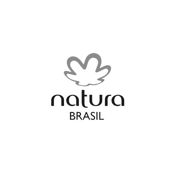 Logo en minuscule - natura brasil