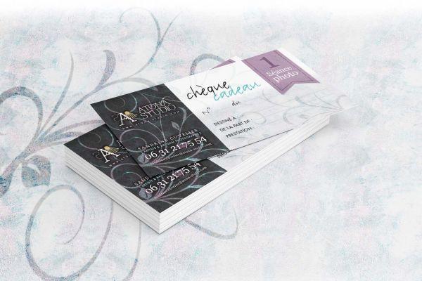 Atona Studio v1 Cartes Chèque cadeau