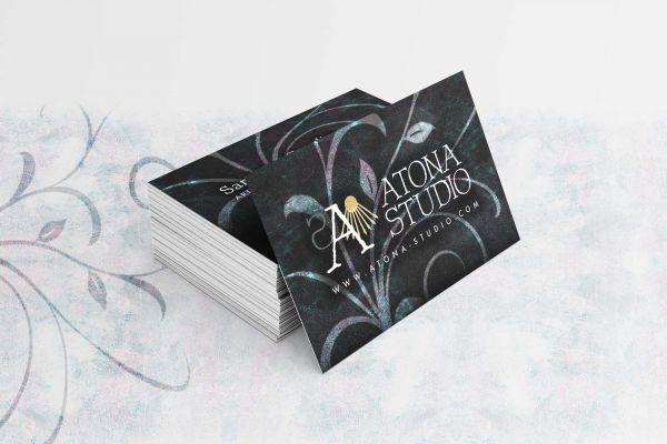 Atona Studio v1 Cartes de visite