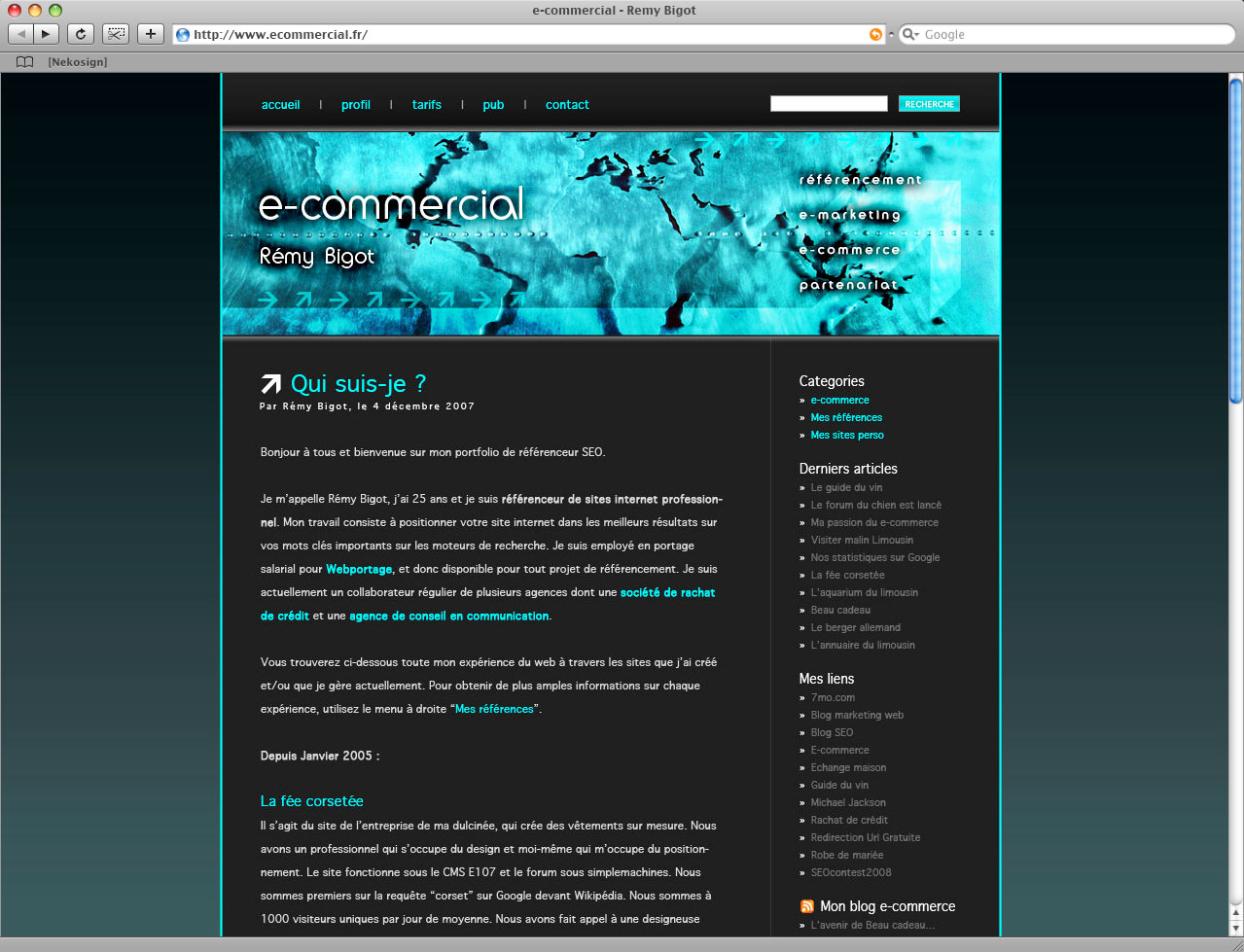 ecommercial website blog