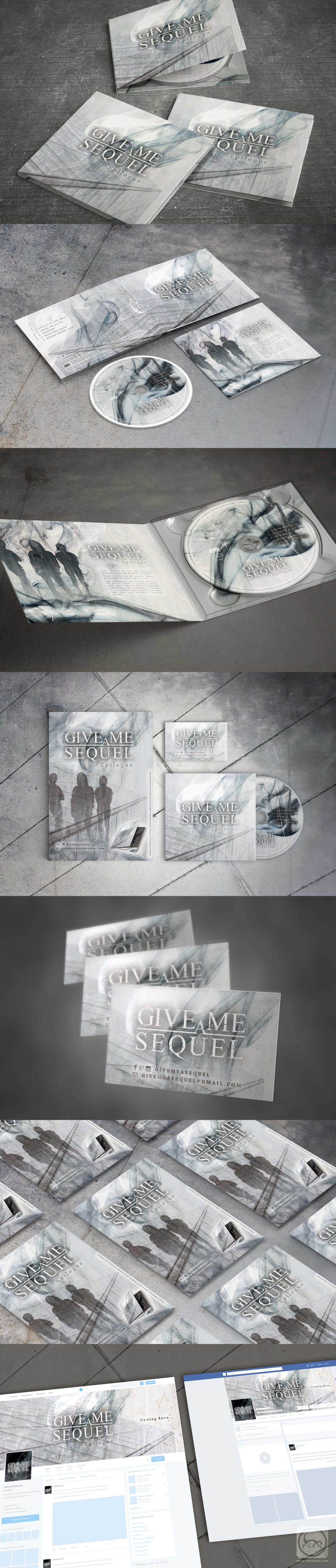 Artwork de l'album Epilogue de Give me a sequel