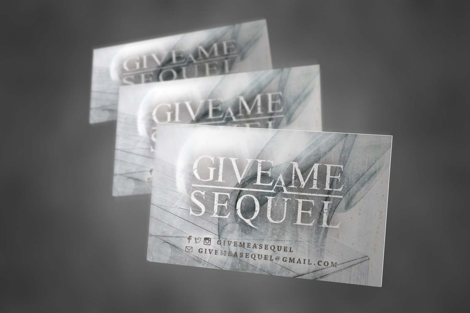 Give me a sequel Cartes sticker