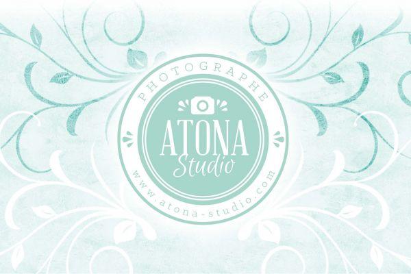 Atona Studio v2 Identité Logotype