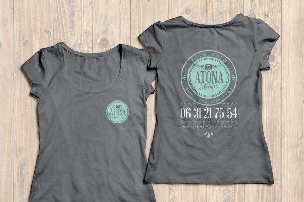 Atona Studio v2 Identité T-shirt