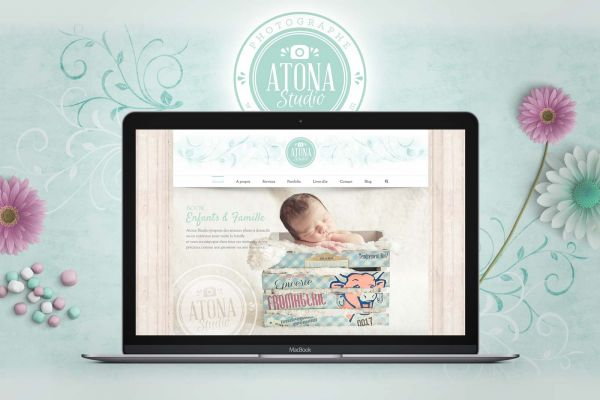 Atona Studio v2 Website Home