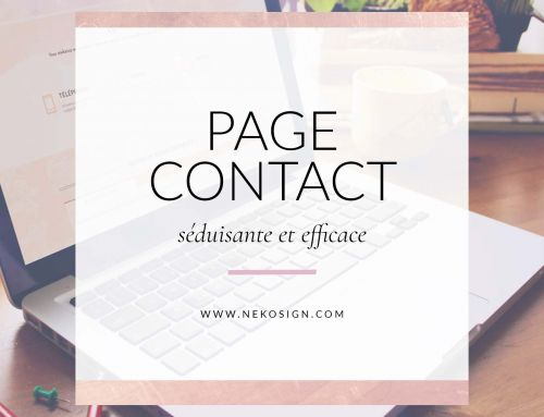 { Tips } Page de contact séduisante et efficace