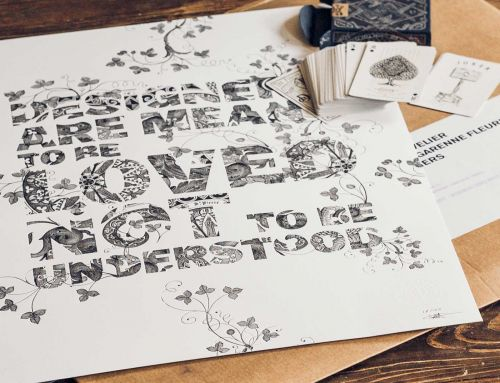 { To shop } Affiches letterpress Mr Cup