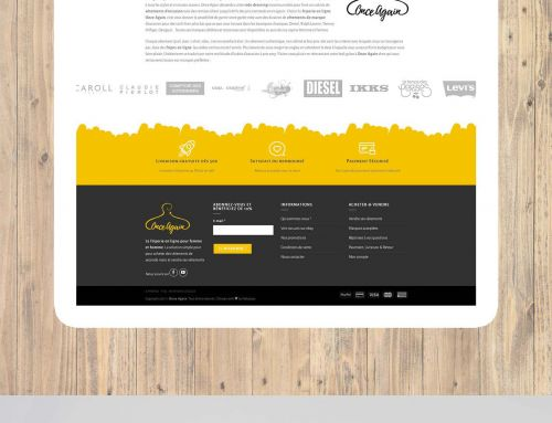 { Crea } Webdesign Once Again