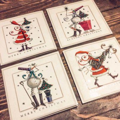 Les cartes de voeux