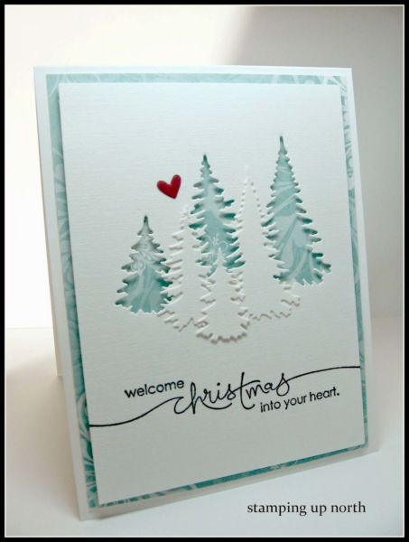 Carte fait main de Stamping up north with Laurie