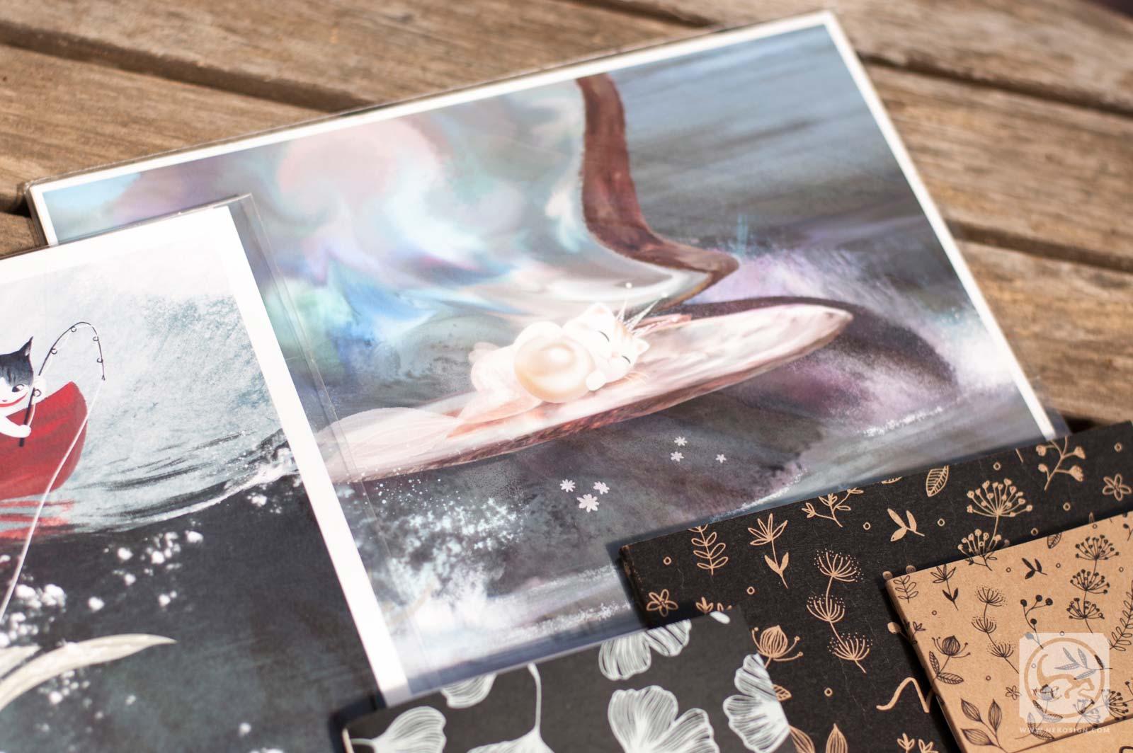 Commande affiches et carnets d'artiste - Vivien Wu Babypearl