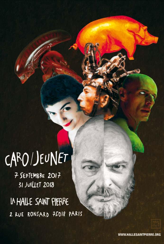 Affiche officielle de l'Expo Caro Jeunet