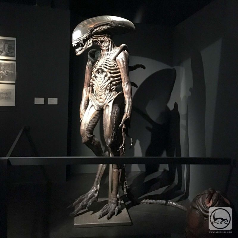 Alien 4 - Maquette grandeur nature de la créature