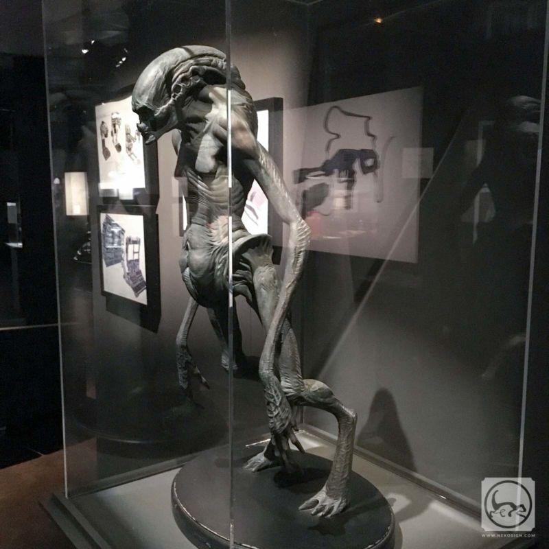 Alien 4 - Petite maquette de la créature de fin