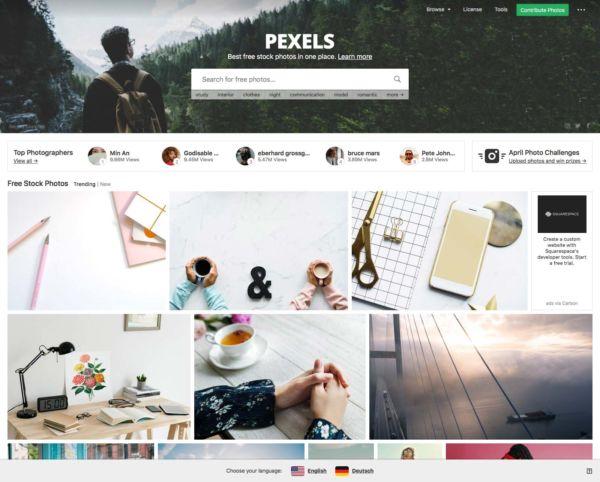Banque images gratuites - pexels