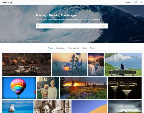 Banque images gratuites - pixabay