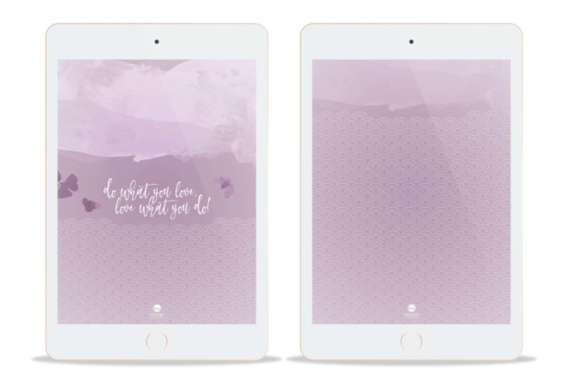 Preview Wallpaper Nekosign Purple scales Tablet
