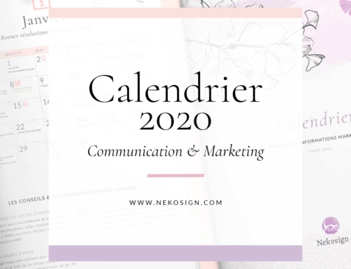 { Freebie } Calendrier de communication 2020